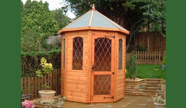 Small garden summer houses uk, free tv stand woodworking ...